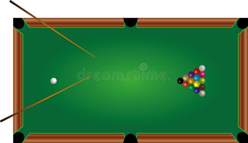 Basenu stół, okręgi, wskazówka, gra fotografia royalty free