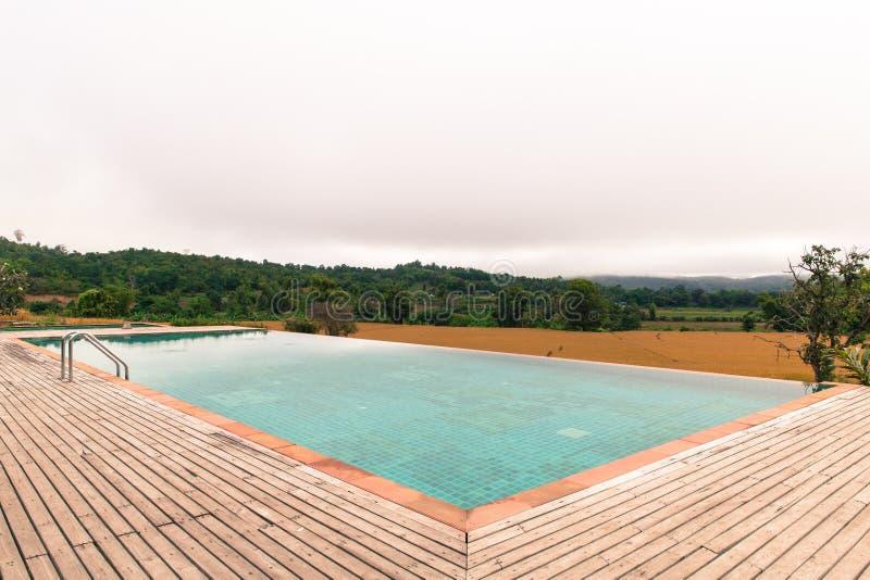 baseny parasoli pływający wody obraz royalty free