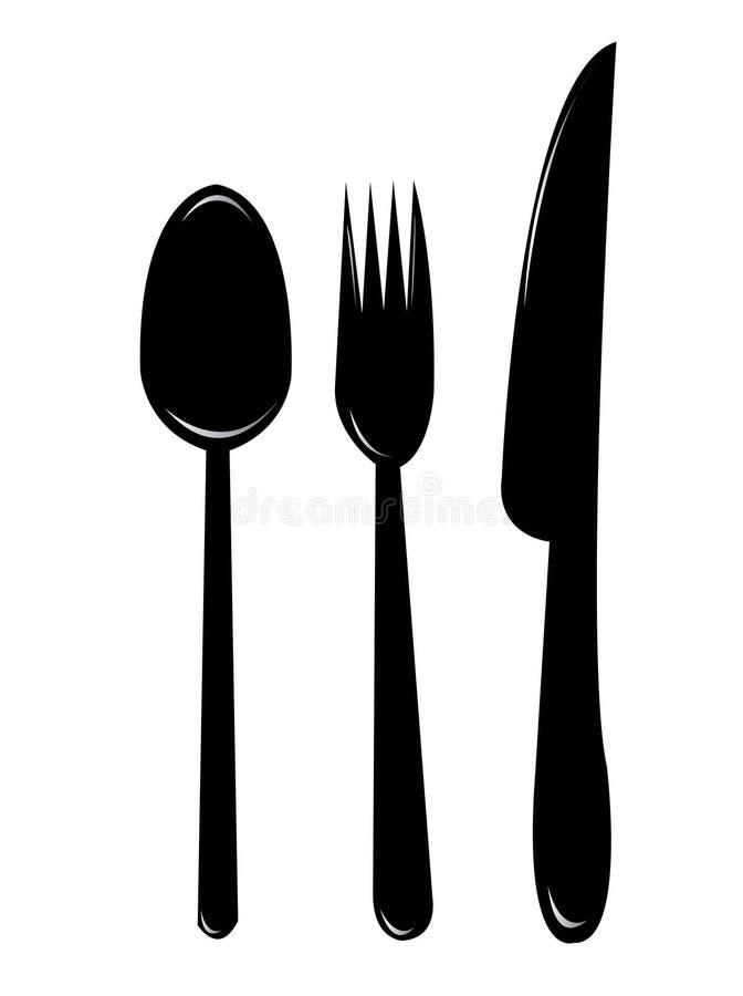 Bases de cuisine illustration stock