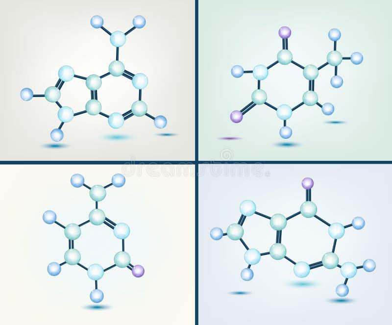 Bases do ADN ilustração do vetor