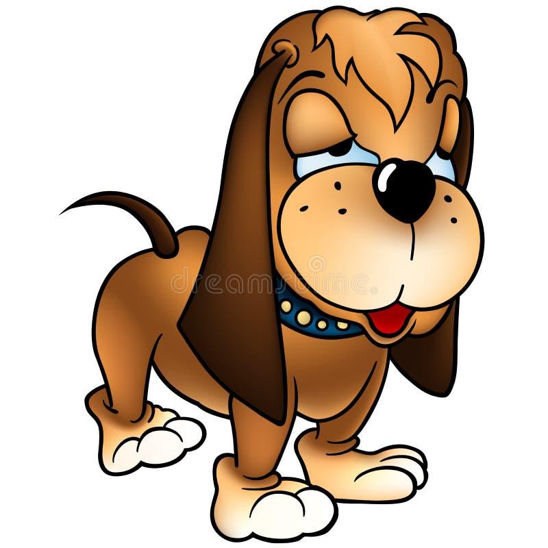baset狗 向量例证
