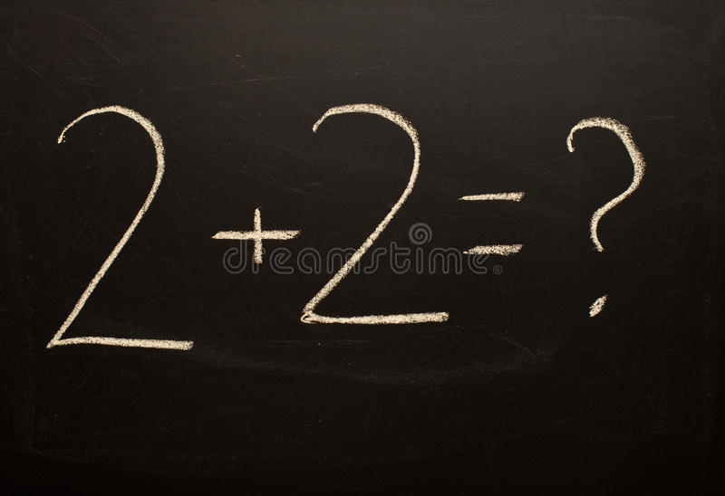 Download Basic Calculations stock image. Image of numeric, addition - 25147995