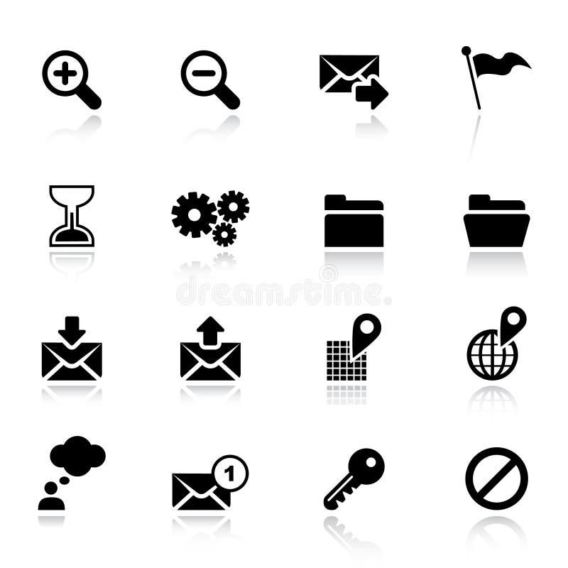 Basic - Classic Web Icons royalty free stock image
