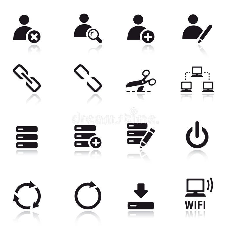 Basic - Classic Web Icons royalty free stock photography