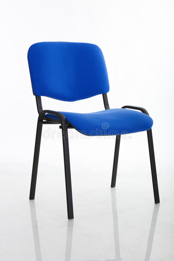Basic Cloth Covered Office Chair Royalty Free Stock Photo