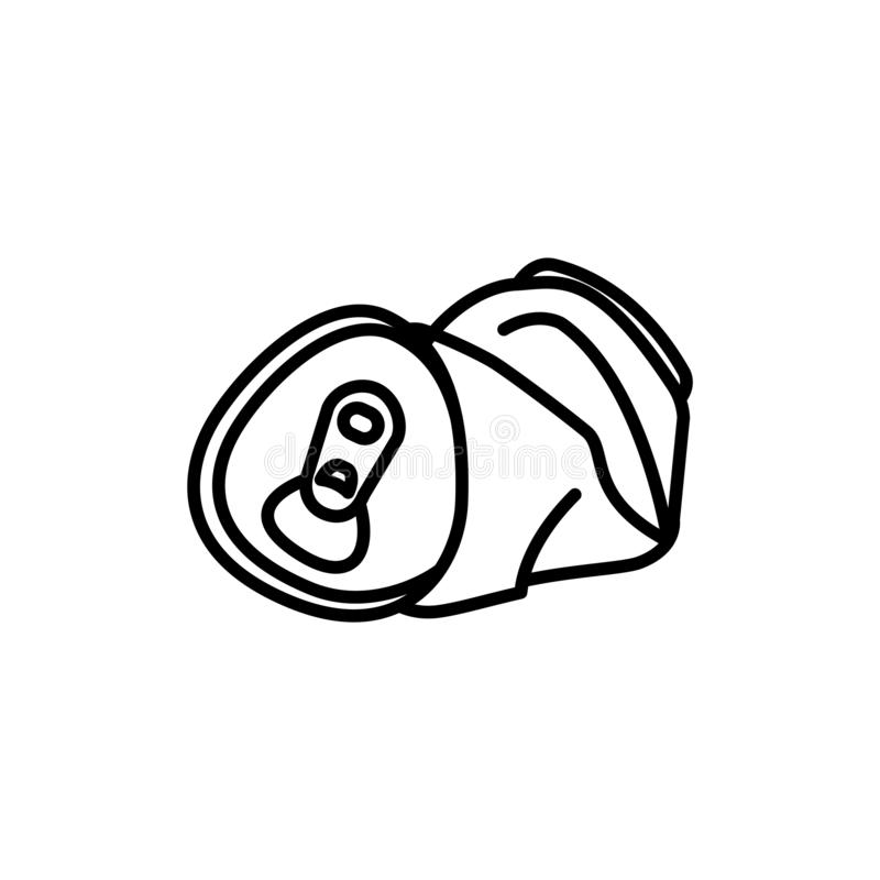Crushed Can Stock Illustrations 750 Crushed Can Stock Illustrations Vectors Clipart Dreamstime
