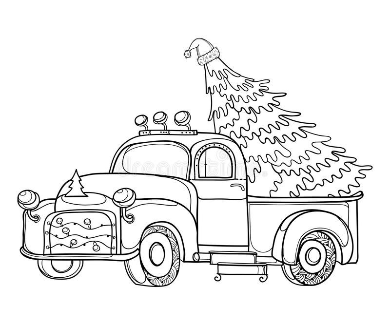 Old Truck Christmas Tree Stock Illustrations 405 Old Truck Christmas Tree Stock Illustrations Vectors Clipart Dreamstime