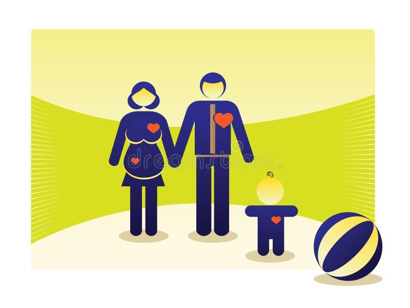 Download Basic family outdoor stock illustration. Illustration of outline - 22046350