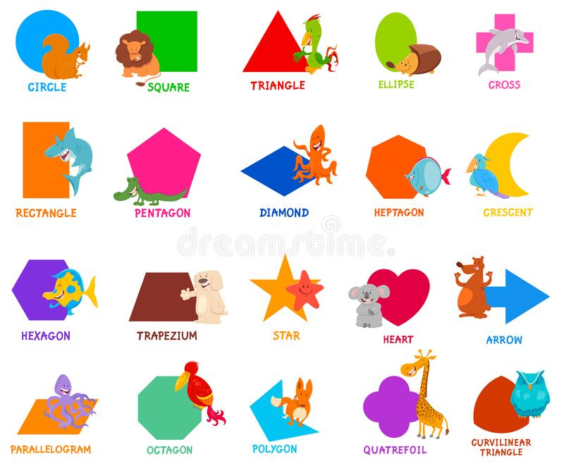 Basic Shapes Stock Illustrations