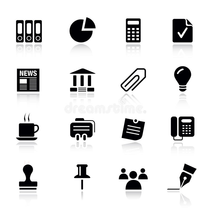 Download Basic -  Office And Business Icons Stock Vector - Image: 19583923