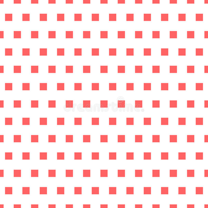 Basic repeatable white plus one color pattern. Simple geometric vector illustration