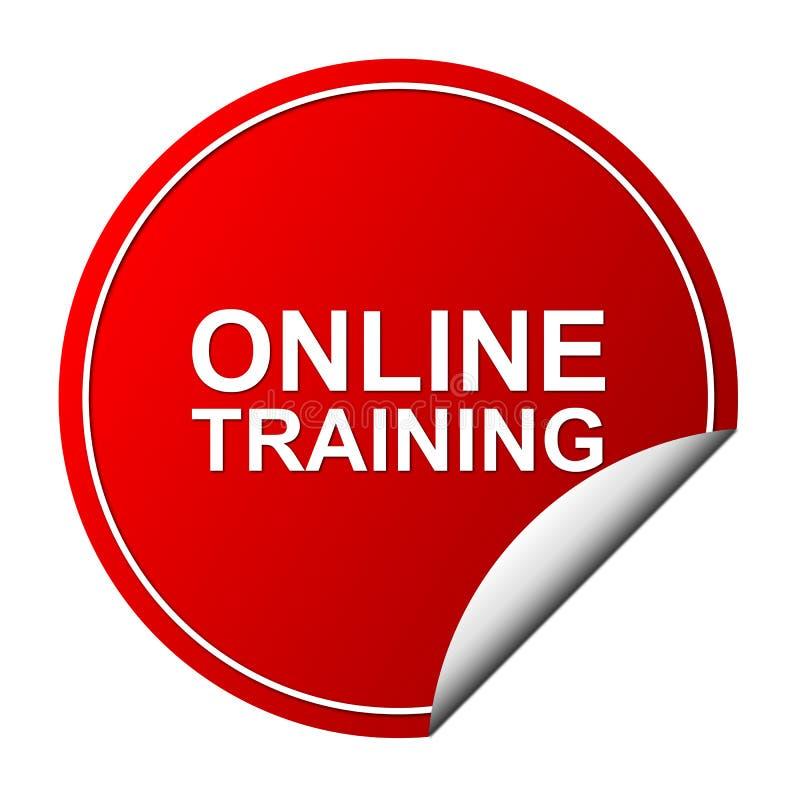 Online training label vector illustration