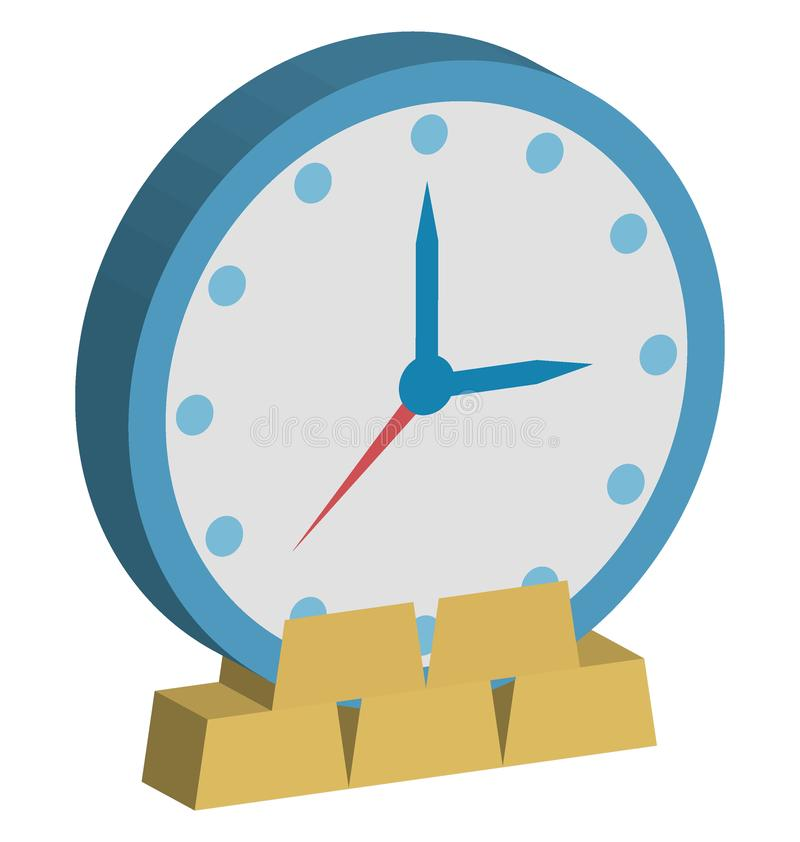 Investment Time Color Icon isolated and Vector that can be easily modified or edit Investment Time Color Icon isolated and Vector. Investment Time Color Icon stock illustration