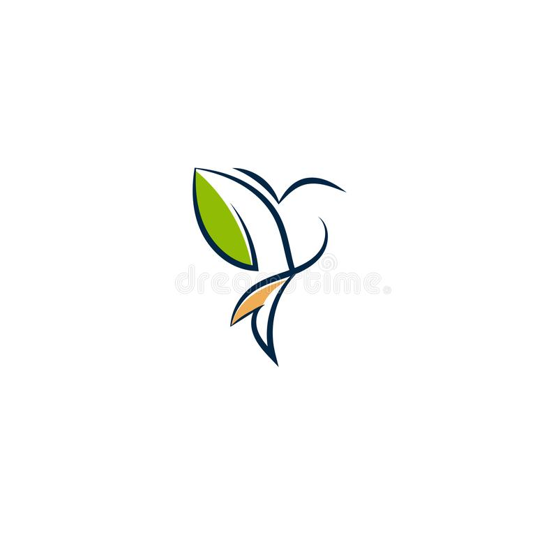 Creative bird logo illustration - Stock vector illustration vector illustration