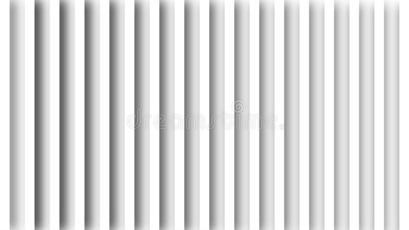 Seamless White Stripes Texture in Gray Background. Abstract image of vertical white straight stripes texture background for backdrop, banner, template or poster royalty free illustration
