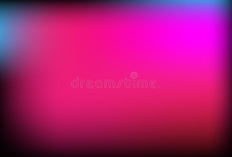 Vector abstract blue black pink purple color background, wallpaper for any design. royalty free illustration