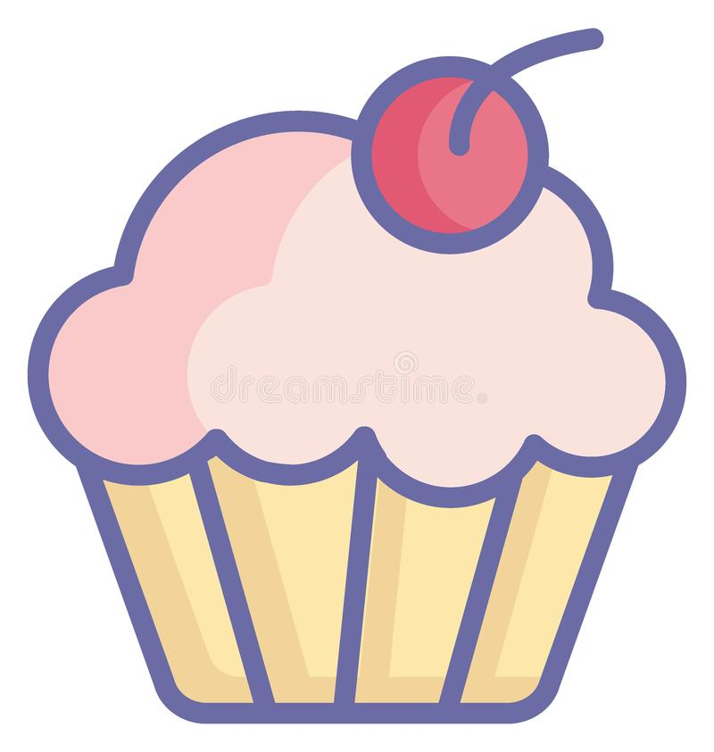 Bakery food Isolated Vector icon which can easily modify or edit vector illustration