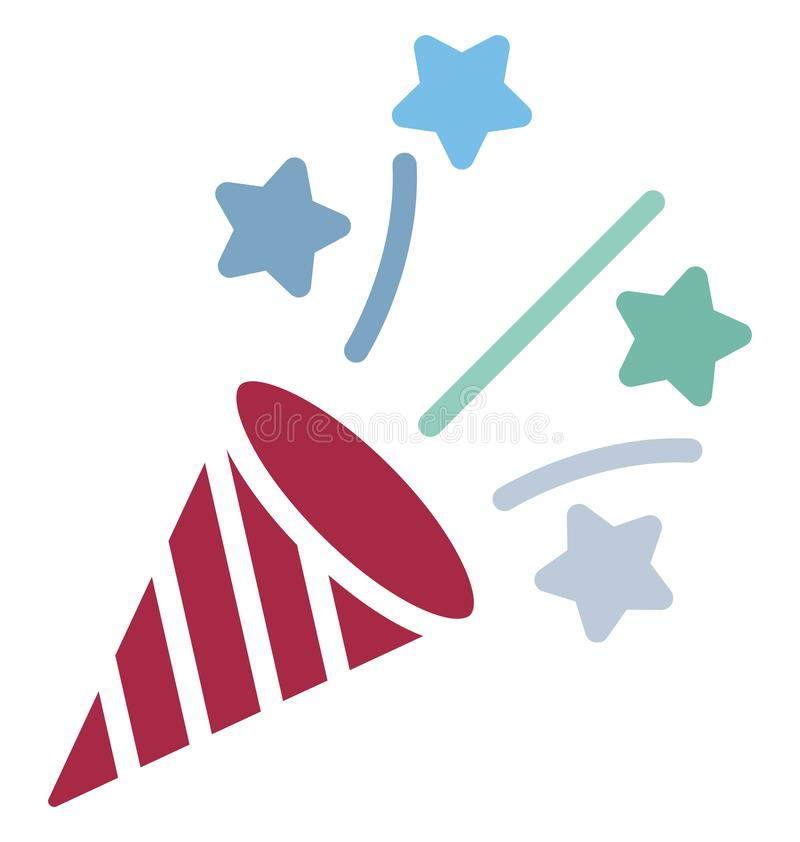 Confetti Isolated Vector Icon Which Can Easily Modify Or Edit Stock Vector - Illustration of wedding, poppers: 146879787 - 웹