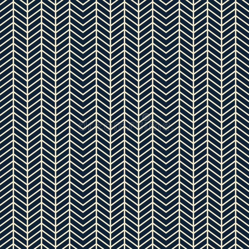 Geometrical zigzag seamless pattern - fabric design collections, wallpaper and backgrounds vector illustration