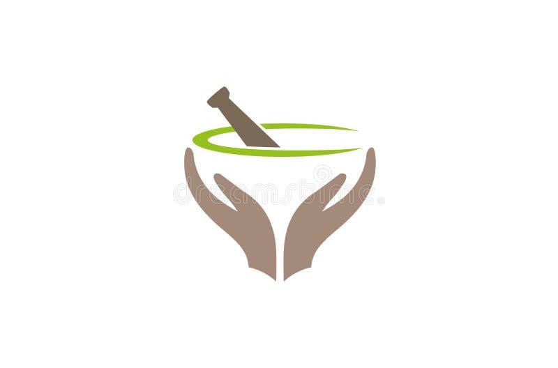 Creative Abstract Apthecary care Logo Design Vector Symbol Illustration. Creative Abstract Apthecary care Logo Design Vector Symbol stock illustration