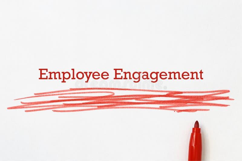 Employee engagement royalty free stock image