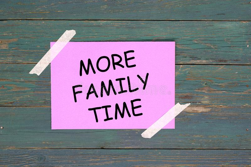 More family time royalty free stock image