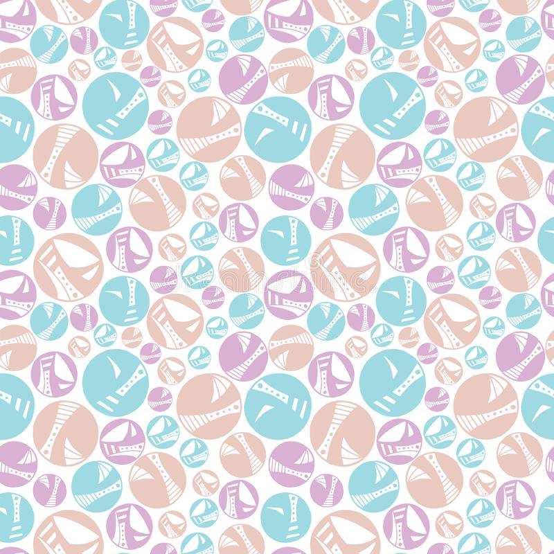 Pastel Dotty Dots Texture Repeat. A fun, texture repeat seamless pattern in fun, cheerful pastel colors that will brighten any surface vector illustration
