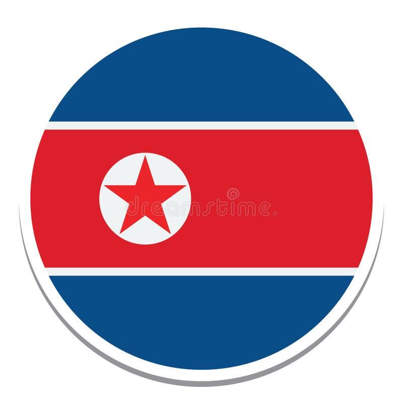 Flag of north korea Flag  Isolated Vector Illustration you can edit it vector illustration