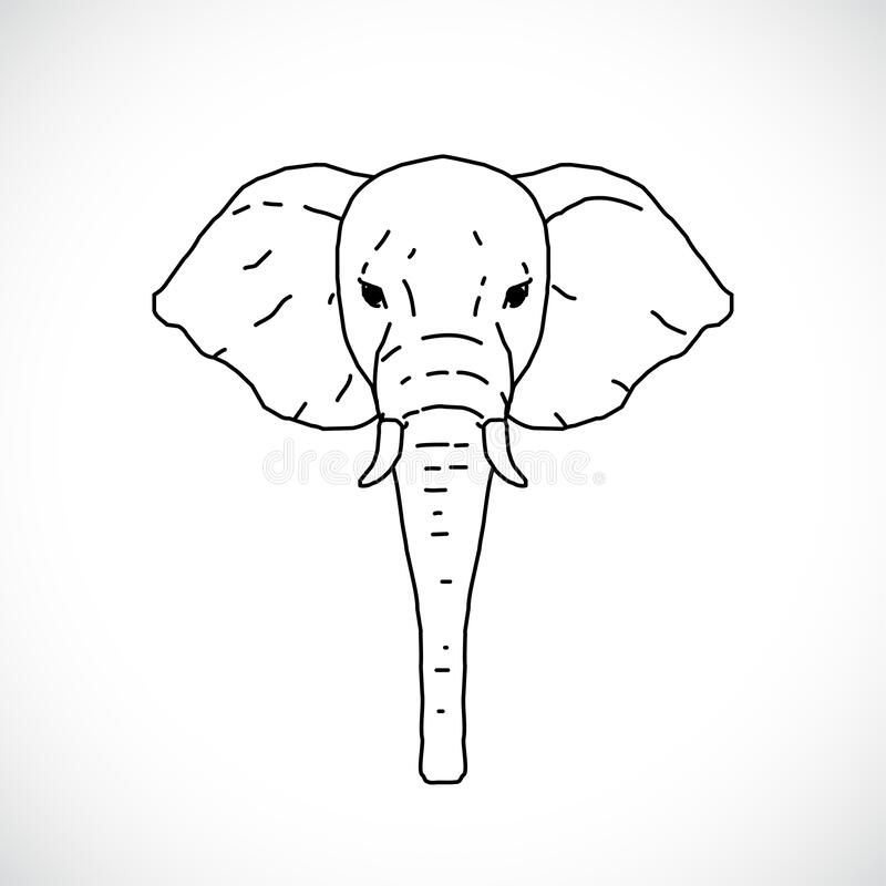 Draw Elephant Stock Illustrations 2 582 Draw Elephant Stock
