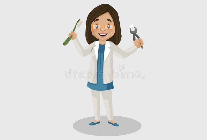 Female Dentist Cartoon Stock Illustrations – 3,371 Female Dentist Cartoon  Stock Illustrations, Vectors & Clipart - Dreamstime