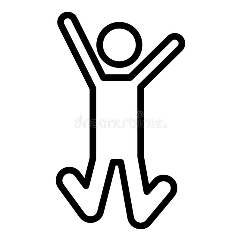Free Basic RGB 358  Happy, Jump Isolated Vector Icon Which Can Easily Modify Or Edit Description Tags 7 Happy, Jump, Jumping, Man, Exub Royalty Free Stock Image - 172854416