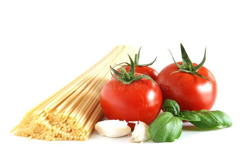Basic spaghetti royalty free stock photo