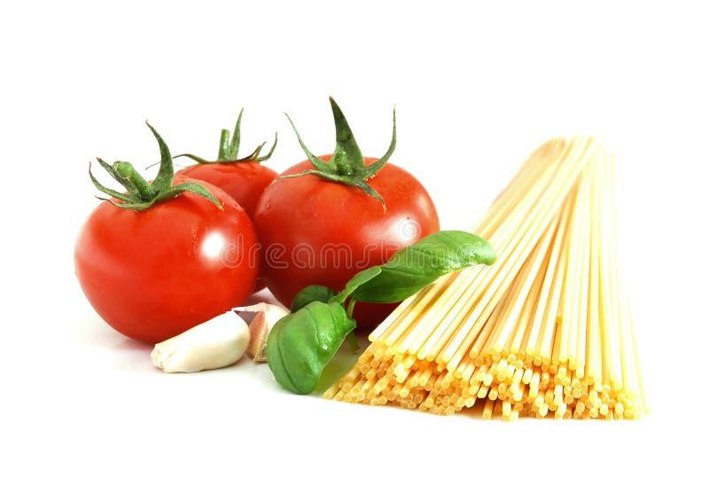Basic spaghetti stock photo