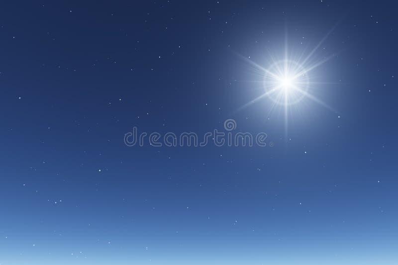 Basic Starry Night Sky Stock Photos