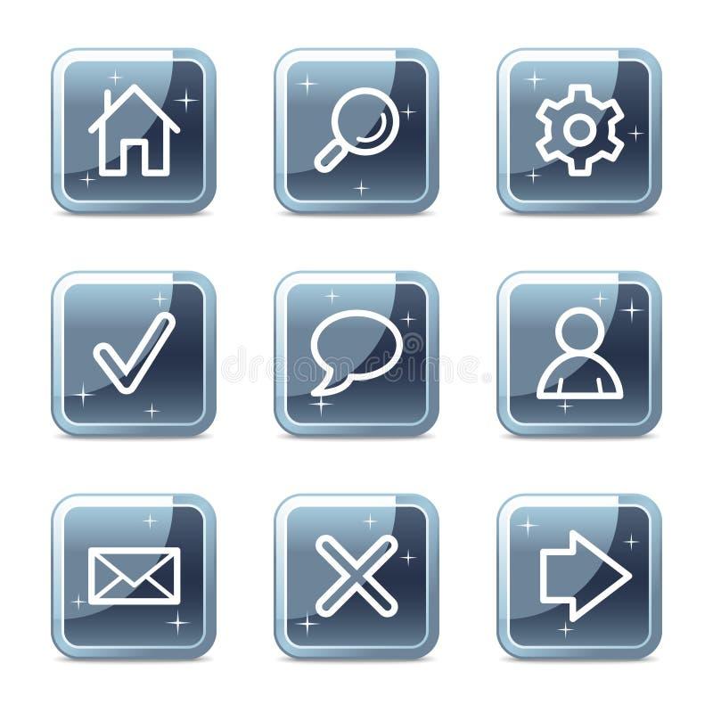Basic web icons vector illustration