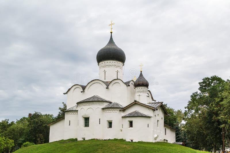 Basil Church no monte, Pskov imagem de stock royalty free