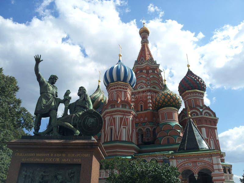 basil Moscow Rosji s square katedralny st czerwony obraz royalty free