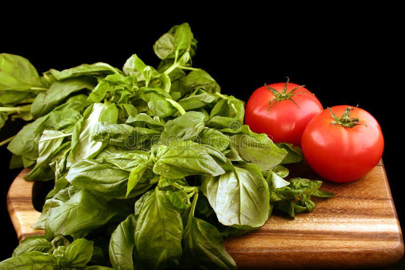 Download Basil And Tomatoes Stock Photos - Image: 2313633