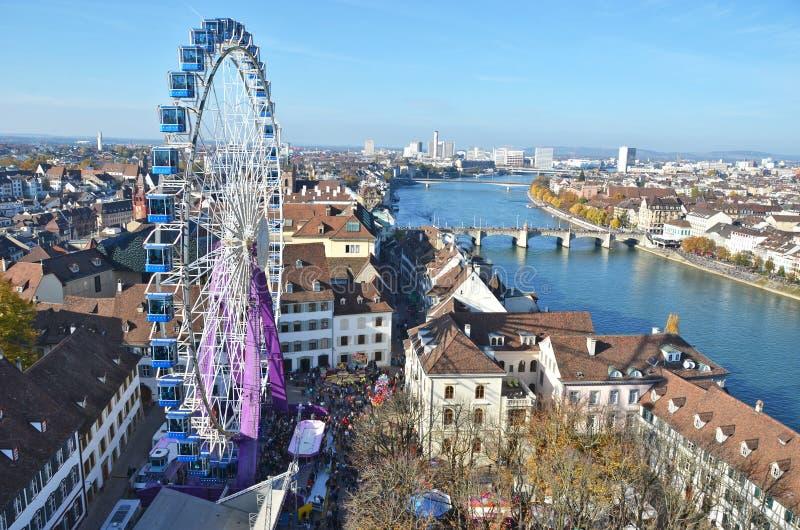 Basilea, Suiza foto de archivo