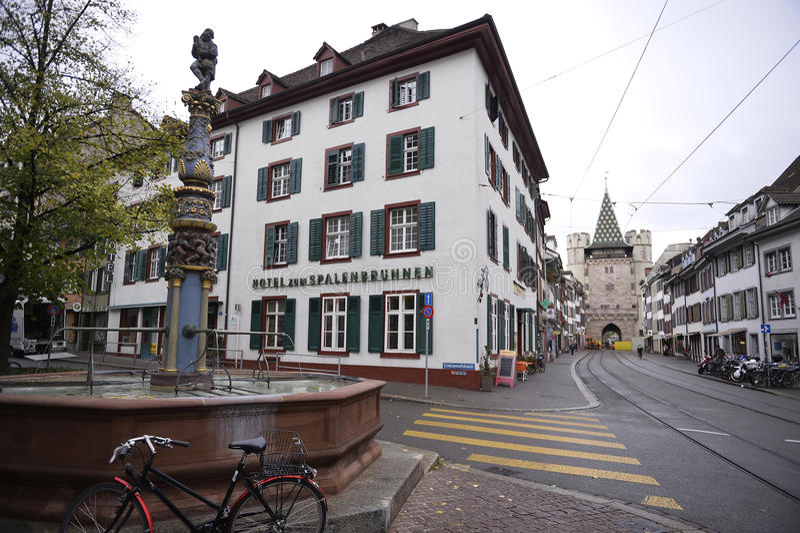 Basileia - Spalentor (porta da cidade) fotografia de stock royalty free