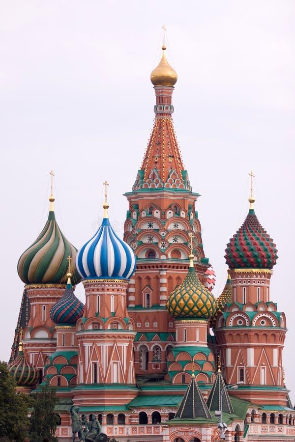 Basilic de saint à Moscou image libre de droits