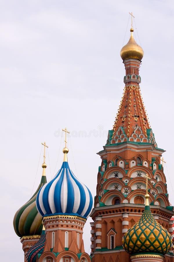 Basilic de saint à Moscou images libres de droits