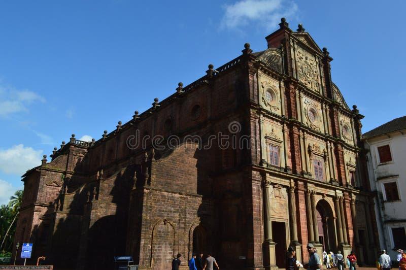 Basilica of Bom Jesus, Goa. Basilica of Bom Jesus Church, Goa, India stock images