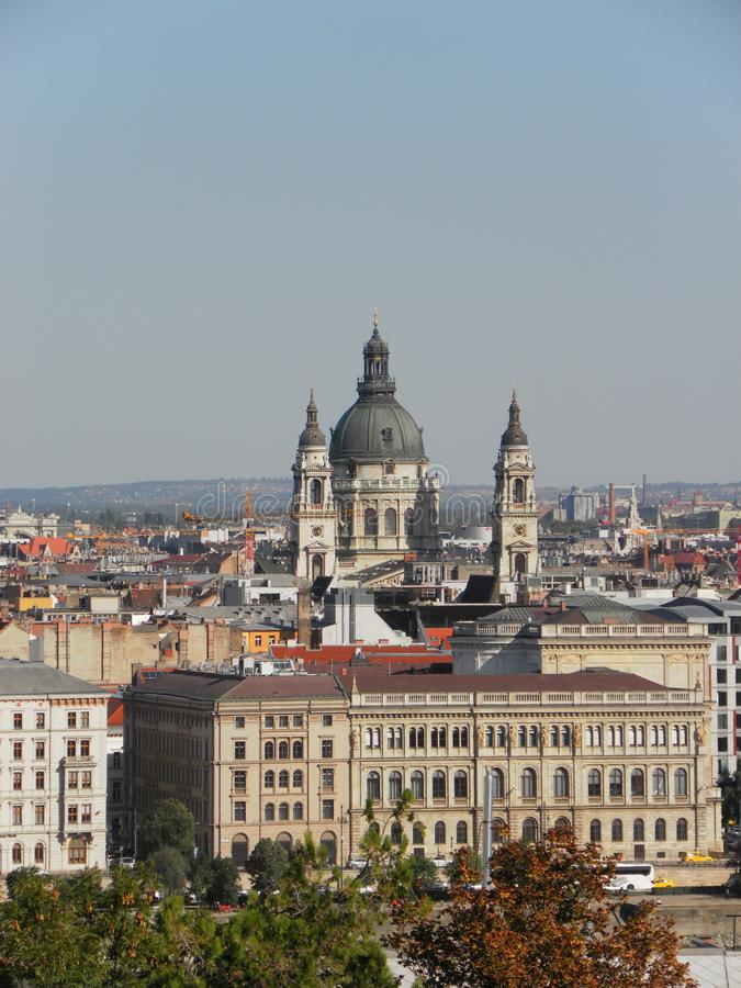 basilica Budapest, Ungheria immagini stock libere da diritti