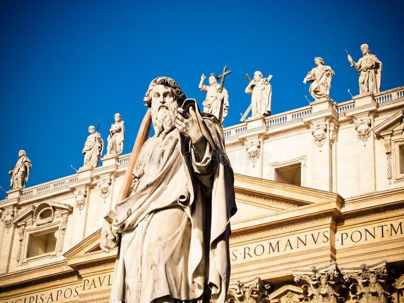 Basilica(church) di San Pietro in Vaticano stock images
