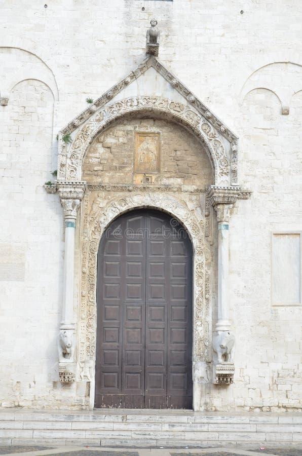 Basilica Church of St. Nicola. Bari. Puglia. Italy stock photos