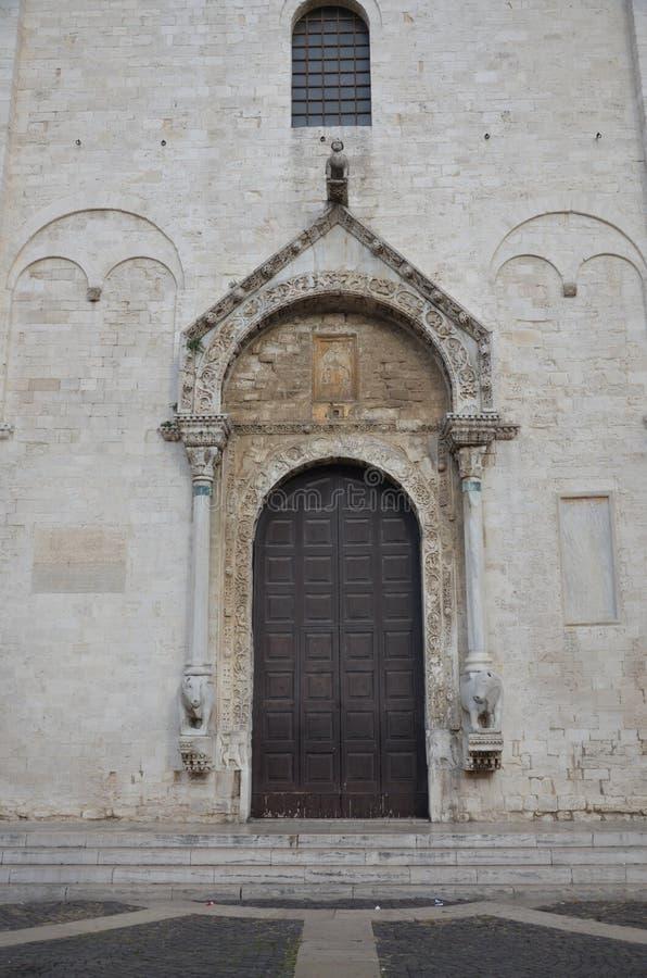 Basilica Church of St. Nicola. Bari. Puglia. Italy stock image