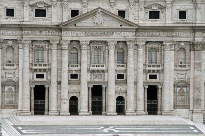 basilica city Di Pietro Ρώμη SAN Βατικανό στοκ φωτογραφίες με δικαίωμα ελεύθερης χρήσης