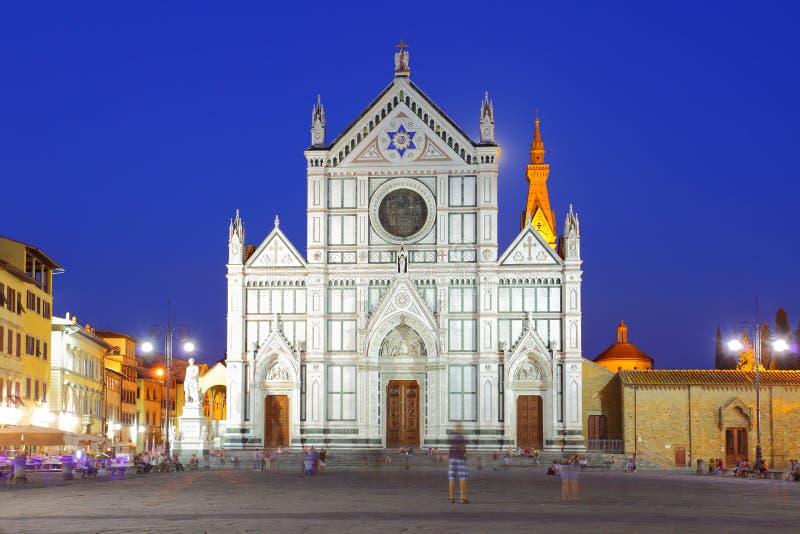 basilica croce di santa arkivfoton