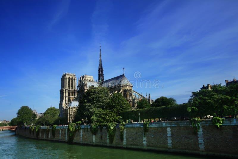 basilica dame notre paris στοκ εικόνες